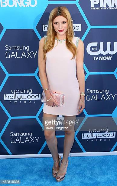 Actress Bella Thorne attends the 16th Annual Young Hollywood Awards at The Wiltern on July 27 2014 in Los Angeles California