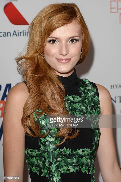 Actress Bella Thorne attends the 20th Annual Race To Erase MS Gala Love To Erase MS at the Hyatt Regency Century Plaza on May 3 2013 in Century City...