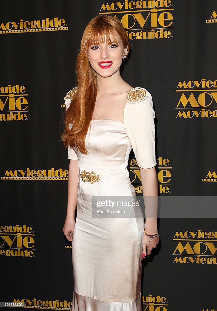 Actress Bella Thorne attends the 21st annual Movieguide Awards at Hilton Universal City on February 15, 2013 in Universal City, California.