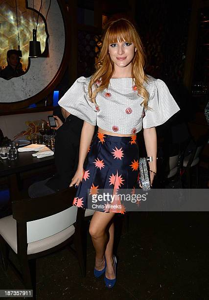 Actress Bella Thorne attends the Flaunt Magazine November issue party at Hakkasan on November 7 2013 in Beverly Hills California