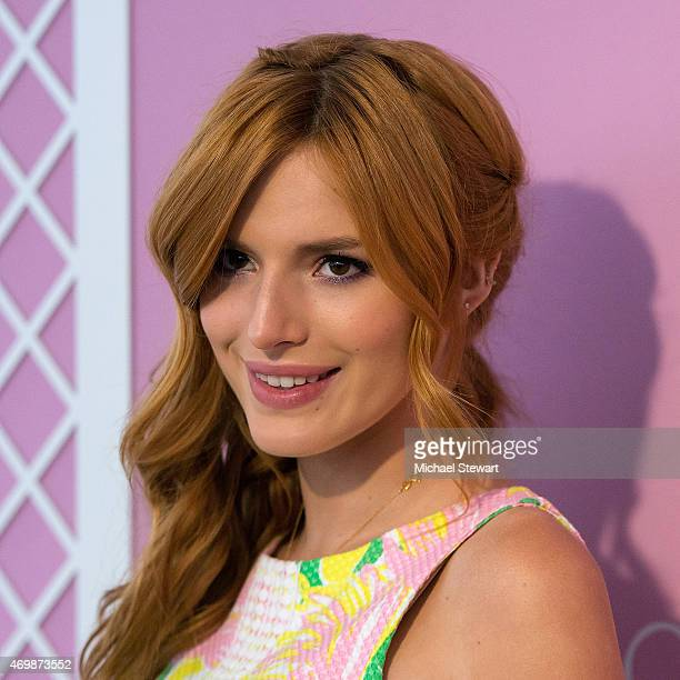 Actress Bella Thorne attends the Lilly Pulitzer for Target Launch at Bryant Park Grill on April 15 2015 in New York City
