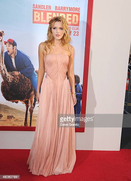 """Actress Bella Thorne attends the Los Angeles premiere of """"Blended"""" at TCL Chinese Theatre on May 21, 2014 in Hollywood, California."""