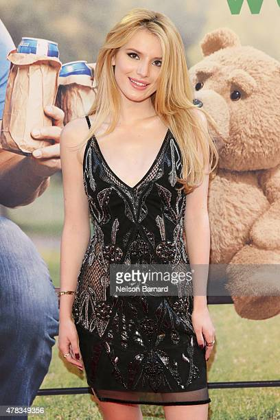 Actress Bella Thorne attends the New York Premiere of 'Ted 2' at the Ziegfeld Theater on June 24 2015 in New York City