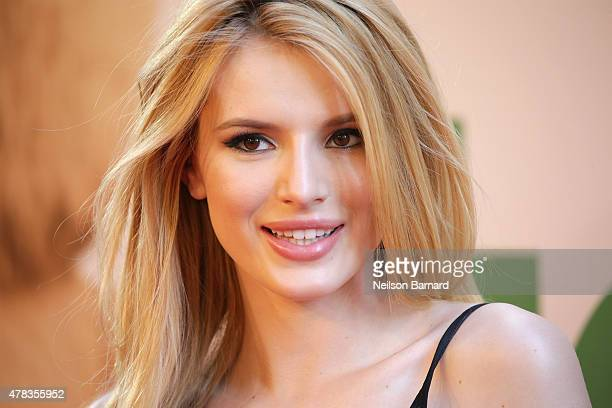 Actress Bella Thorne attends the New York Premiere of Ted 2 at the Ziegfeld Theater on June 24 2015 in New York City