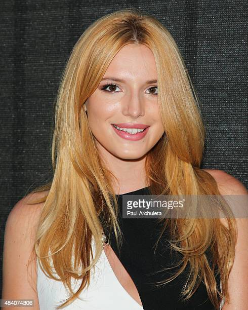 Actress Bella Thorne attends the premiere of 'Big Sky' at Arena Cinema Hollywood on August 14 2015 in Hollywood California
