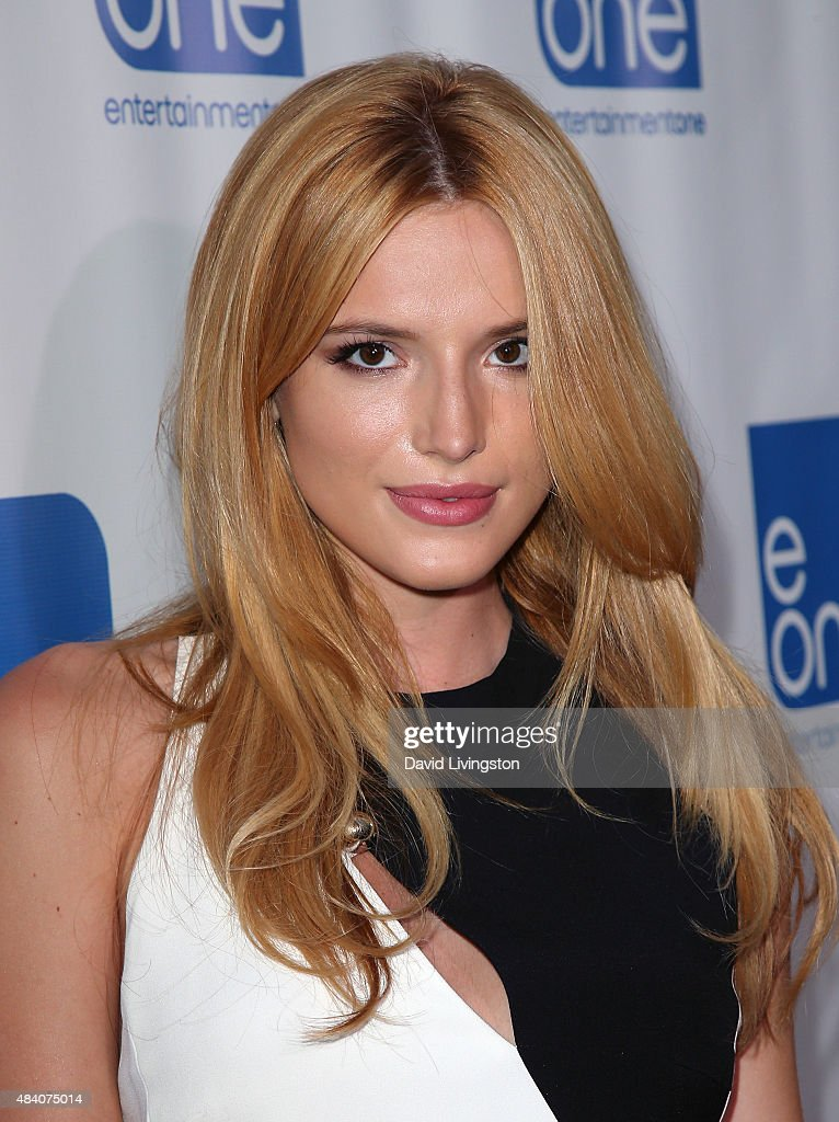 Actress Bella Thorne attends the premiere of Manis Film's 'Big Sky' at Arena Cinema Hollywood on August 14, 2015 in Hollywood, California.