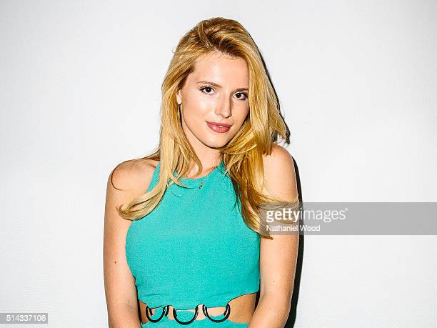Actress Bella Thorne is photographed for Teen Vogue Magazine on August 4 2015 in Los Angeles California