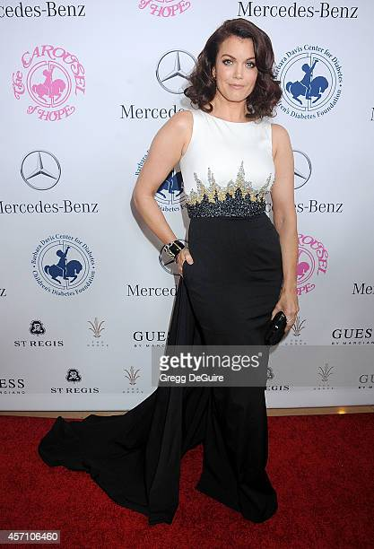 Actress Bellamy Young arrives at the 2014 Carousel Of Hope Ball Presented By MercedesBenz at The Beverly Hilton Hotel on October 11 2014 in Beverly...