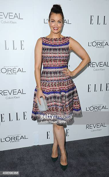 Actress Bellamy Young arrives at the 21st Annual ELLE Women In Hollywood Awards at Four Seasons Hotel Los Angeles at Beverly Hills on October 20 2014...