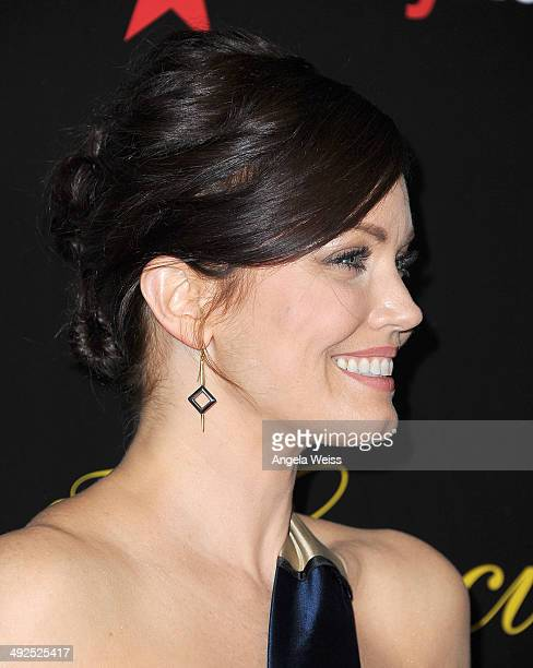 Actress Bellamy Young arrives at the 39th Annual Gracie Awards at The Beverly Hilton Hotel on May 20 2014 in Beverly Hills California
