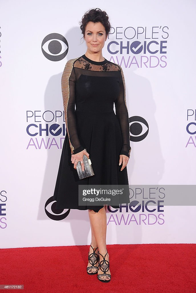 Actress Bellamy Young arrives at The 41st Annual People's Choice Awards at Nokia Theatre LA Live on January 7, 2015 in Los Angeles, California.