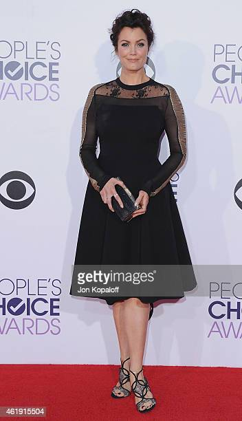 Actress Bellamy Young arrives at The 41st Annual People's Choice Awards at Nokia Theatre LA Live on January 7 2015 in Los Angeles California