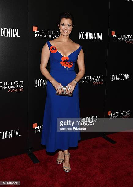 Actress Bellamy Young arrives at the 9th Hamilton Behind The Camera Awards at Exchange LA on November 6 2016 in Los Angeles California