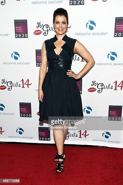 Actress Bellamy Young arrives at the Les Girls 14 Cabaret Benefit at Avalon on October 6 2014 in Hollywood California