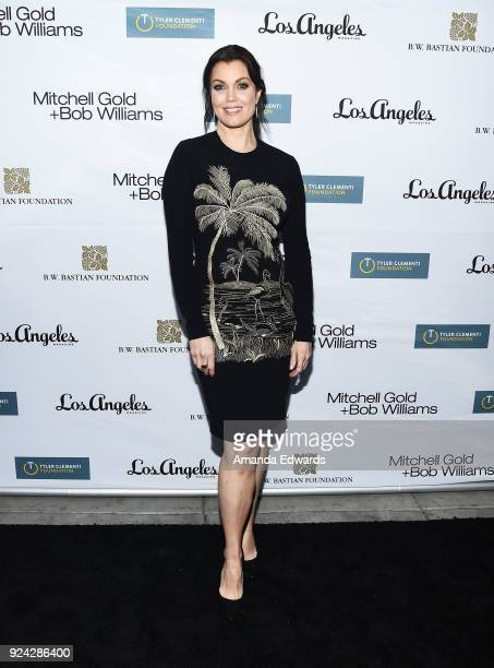 Actress Bellamy Young arrives at the Mitchell Gold Bob Williams Birthday Bash to benefit The Tyler Clementi Foundation at the Mitchell Gold Bob...