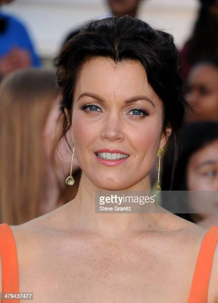 Actress Bellamy Young arrives at the premiere of Summit Entertainment's 'Divergent' at the Regency Bruin Theatre on March 18 2014 in Los Angeles...
