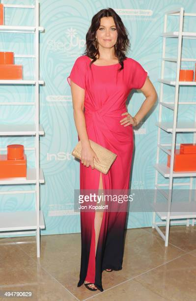 Actress Bellamy Young arrives at the Step Up 11th Annual Inspiration Awards at The Beverly Hilton Hotel on May 30 2014 in Beverly Hills California