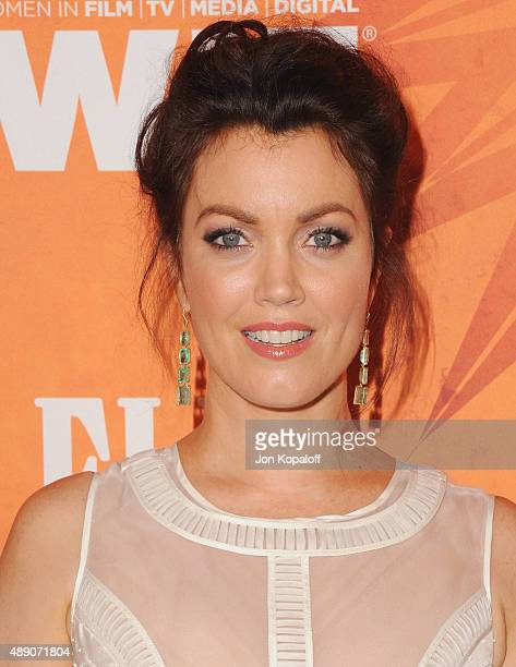 Actress Bellamy Young arrives at the Variety And Women In Film Annual Pre-Emmy Celebration at Gracias Madre on September 18, 2015 in West Hollywood,...