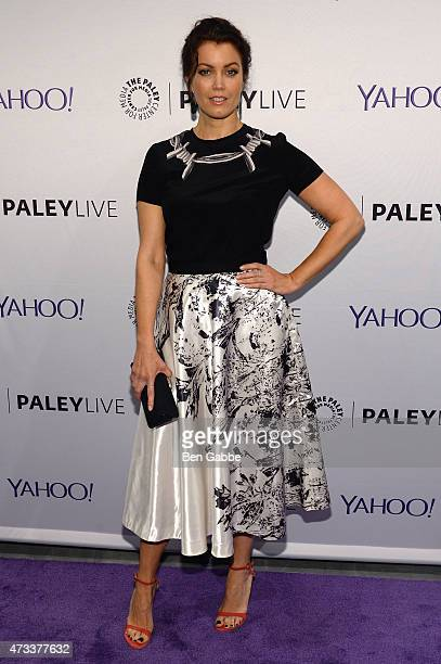 Actress Bellamy Young attends an evening with the cast of Scandal presented by The Paley Center For Media at The Paley Center For Media on May 14...