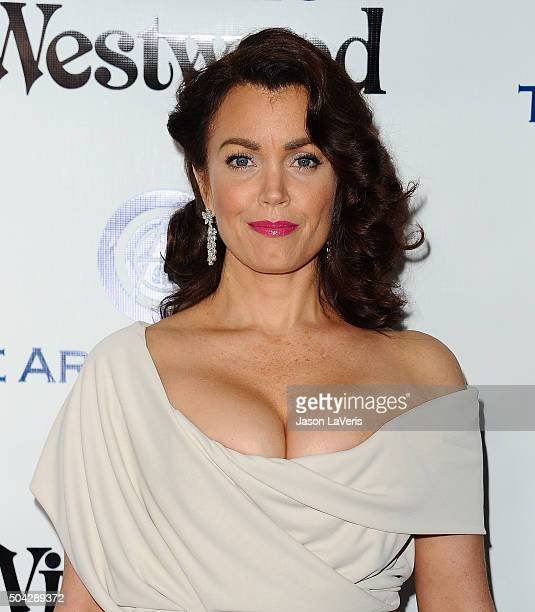 Actress Bellamy Young attends Art of Elysium's 9th annual Heaven Gala at 3LABS on January 9 2016 in Culver City California