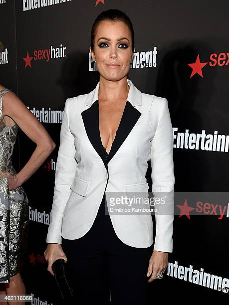 Actress Bellamy Young attends Entertainment Weekly's celebration honoring the 2015 SAG awards nominees at Chateau Marmont on January 24 2015 in Los...