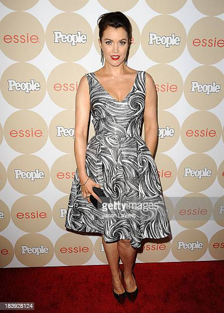 Actress Bellamy Young attends People's 'Ones To Watch' party at Hinoki the Bird on October 9 2013 in Los Angeles California