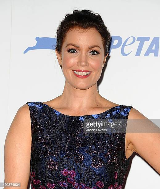 Actress Bellamy Young attends PETA's 35th anniversary party at Hollywood Palladium on September 30 2015 in Los Angeles California