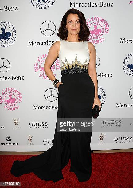 Actress Bellamy Young attends the 2014 Carousel of Hope Ball at The Beverly Hilton Hotel on October 11 2014 in Beverly Hills California