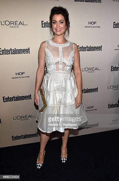 Actress Bellamy Young attends the 2015 Entertainment Weekly PreEmmy Party at Fig Olive Melrose Place on September 18 2015 in West Hollywood California