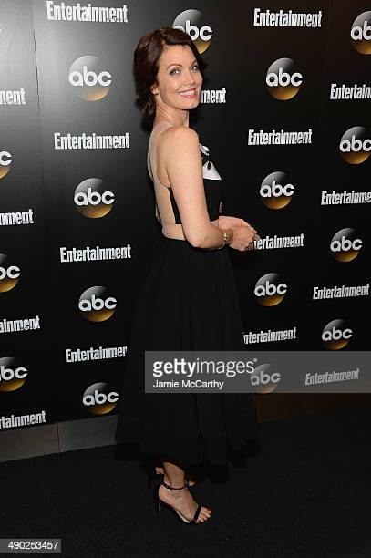 Actress Bellamy Young attends the Entertainment Weekly ABC Upfronts Party at Toro on May 13 2014 in New York City