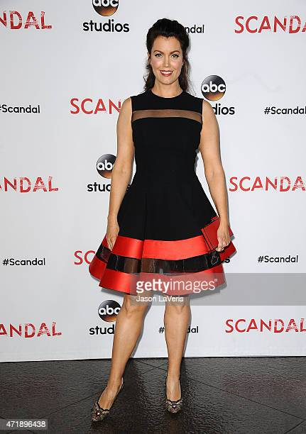 Actress Bellamy Young attends the Scandal ATAS event at Directors Guild Of America on May 1 2015 in Los Angeles California