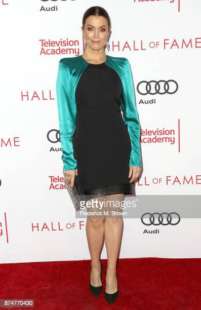 Actress Bellamy Young attends the Television Academy's 24th Hall of Fame Ceremony at the Saban Media Center on November 15 2017 in North Hollywood...