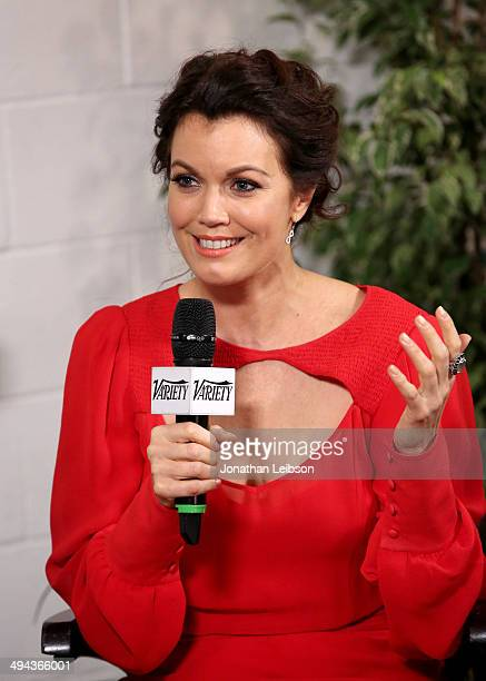 Actress Bellamy Young attends the Variety Studio powered by Samsung Galaxy at Palihouse on May 29 2014 in West Hollywood California