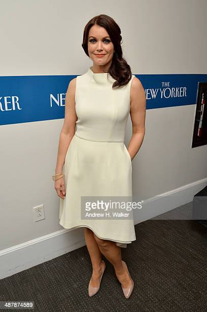Actress Bellamy Young attends the White House Correspondents' Dinner Weekend PreParty hosted by The New Yorker's David Remnick at the W Hotel...