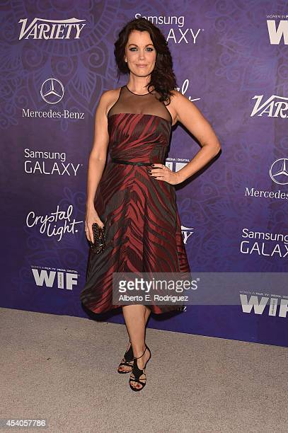 Actress Bellamy Young attends Variety and Women in Film Emmy Nominee Celebration powered by Samsung Galaxy on August 23 2014 in West Hollywood...