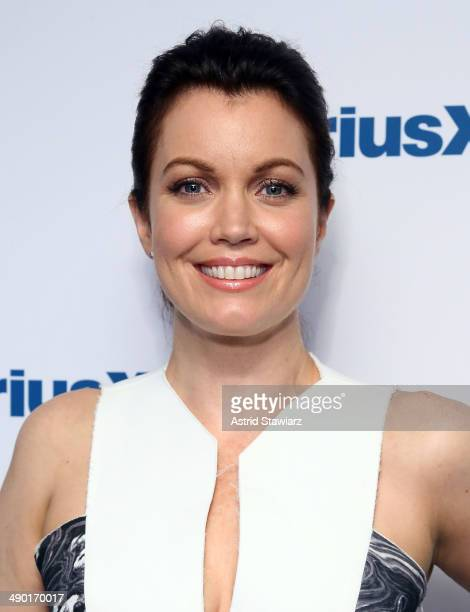 Actress Bellamy Young visits the SiriusXM Studios on May 13 2014 in New York City