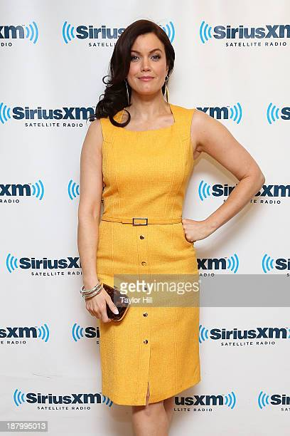 Actress Bellamy Young visits the SiriusXM Studios on November 14 2013 in New York City