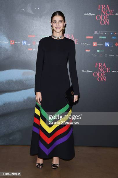 Actress Benedetta Porcaroli attends the France Odeon festival on October 29, 2019 in Florence, Italy.