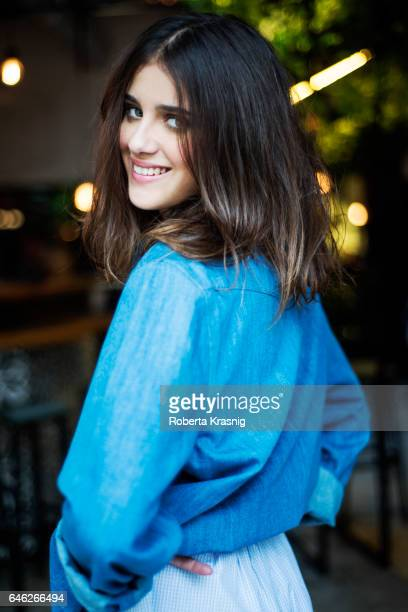 Actress Benedetta Porcaroli is photographed for Self Assignment on December 10 2016 in Rome Italy