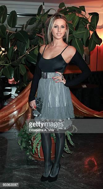 Actress Benedetta Valanzano attends '2009 Margutta Awards' at Margutta RistoArte on November 24 2009 in Rome Italy