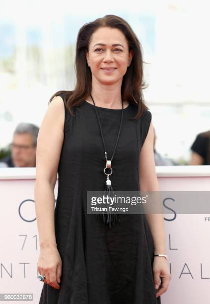 Actress Bennu Yildirimla attends the photocall for the Ahlat Agaci during the 71st annual Cannes Film Festival at Palais des Festivals on May 19 2018...