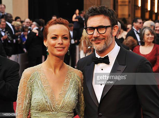 Actress Berenice Bejo and Director Michel Hazanavicius arrive at the 84th Annual Academy Awards held at the Hollywood Highland Center on February 26...