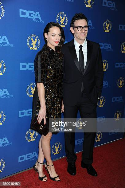 Actress Berenice Bejo and director Michel Hazanavicius arrive at the 65th Annual Directors Guild Awards held at the Ray Dolby Ballroom at Hollywood...