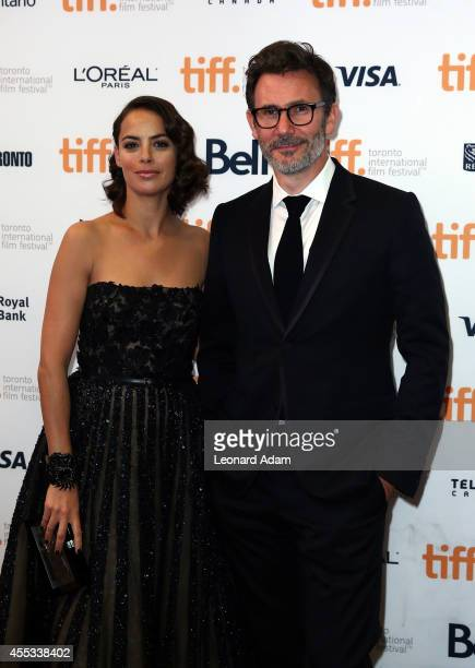 Actress Berenice Bejo and Writer/Director Michel Hazanavicius attend 'The Search' premiere during the 2014 Toronto International Film Festival at The...