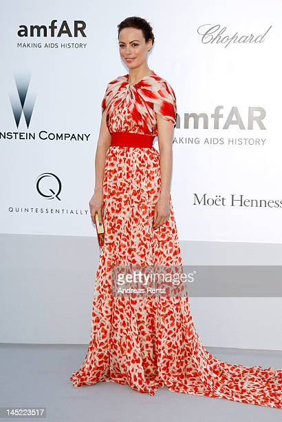Actress Berenice Bejo arrives at the 2012 amfAR's Cinema Against AIDS during the 65th Annual Cannes Film Festival at Hotel Du Cap on May 24 2012 in...