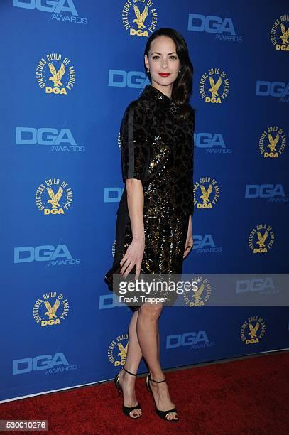 Actress Berenice Bejo arrives at the 65th Annual Directors Guild Awards held at the Ray Dolby Ballroom at Hollywood Highland