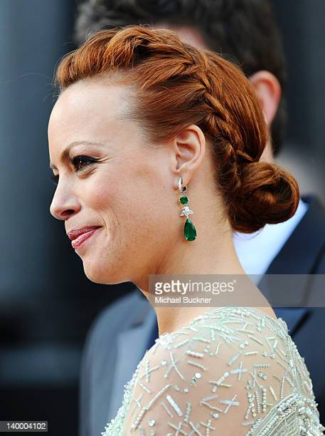 Actress Berenice Bejo arrives at the 84th Annual Academy Awards held at the Hollywood Highland Center on February 26 2012 in Hollywood California