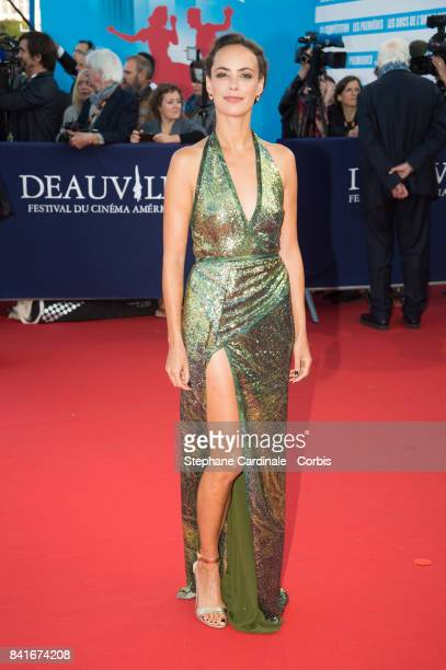 Actress Berenice Bejo arrives at the Opening Ceremony of the 43rd Deauville American Film Festival on September 1 2017 in Deauville France
