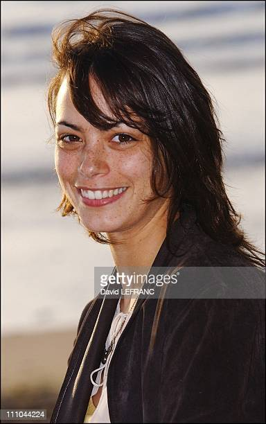 Actress Berenice Bejo at Cabourg Romantic Film Festival in France on June 12 2004