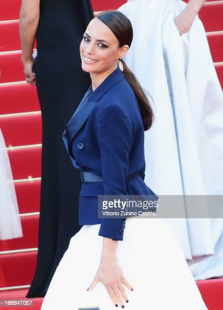 Actress Berenice Bejo attends Le Passe Premiere during the 66th Annual Cannes Film Festival at Grand Theatre Lumiere on May 17 2013 in Cannes France